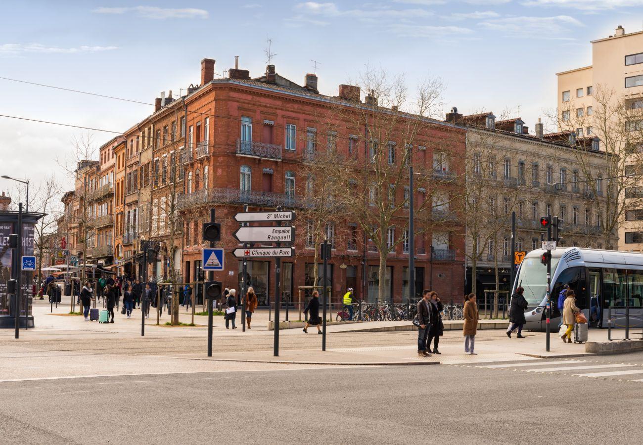 Studio in Toulouse - PALAIS DE JUSTICE STUDIO Tramway Hyper Centre