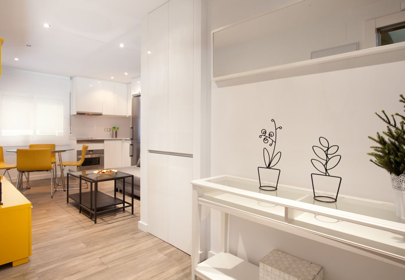 entrance to the apartment of 2 bedrooms in Barcelona close to Sagrada Familia and Hospital La Pau