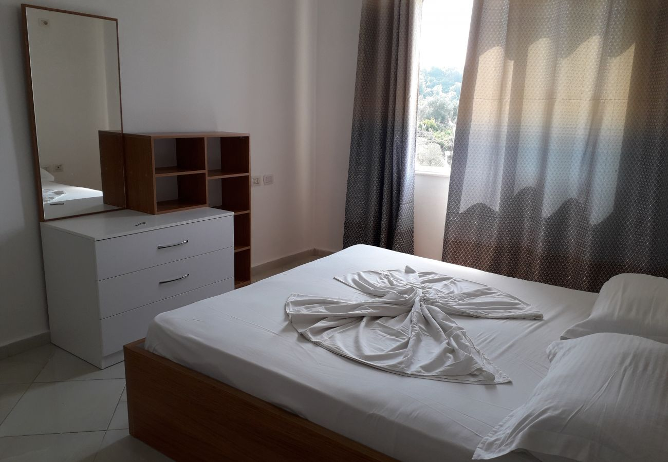 Nice double room and quite bright