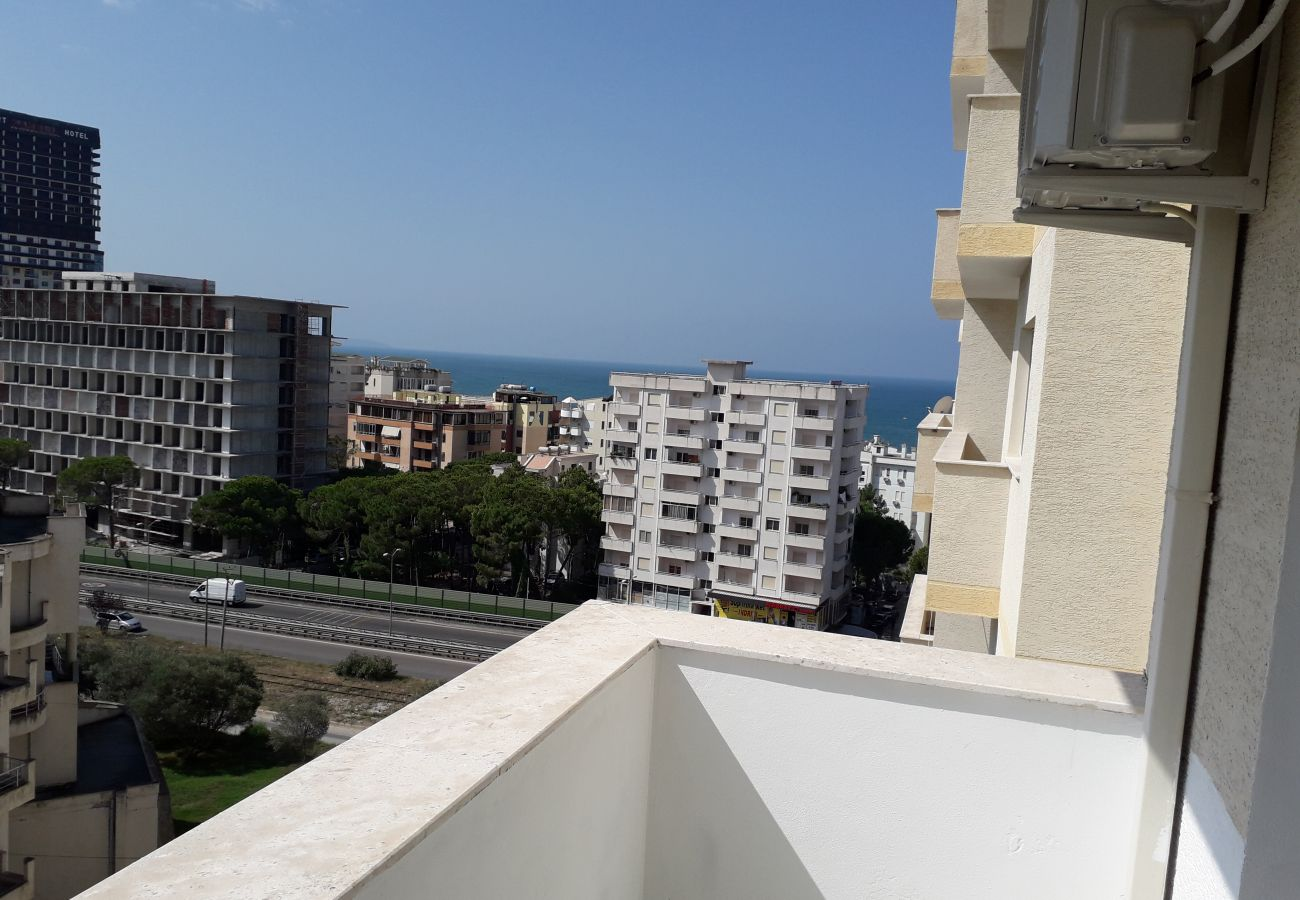 Nice view from the balcony of the apartment